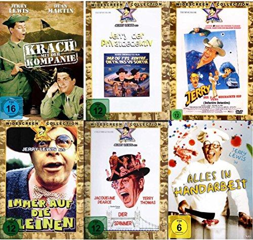 Jerry Lewis Fan Paket (6 Filmklassiker auf 6 DVDs)