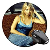 Kaley Cuoco The Big Bang Theory B Tapis De Souris Ronde Round Mousepad PC