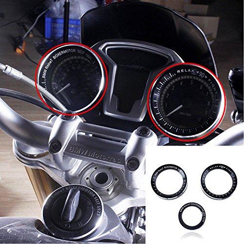 XX eCommerce Motorrad Geschwindigkeitsmesser Tachometer Tacho Techo Schlüssel Ring Deckung für BMW R Nine T R1200R