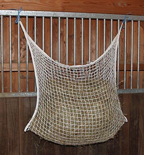 Kerbl 321299 Heunetz, 120 x 90 cm, weiß, Maschenweite: 3 x 3 cm -