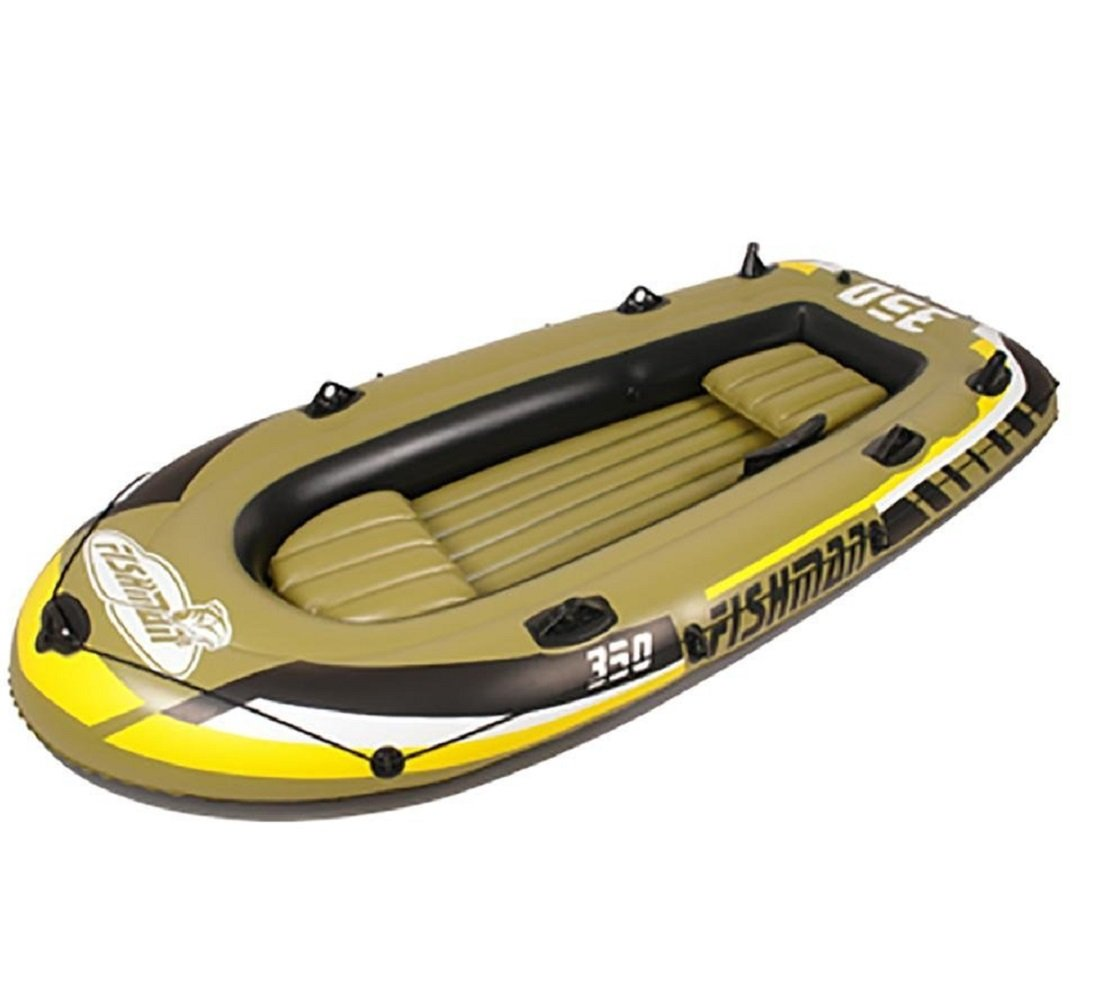 wenrit Inflatable boat Inflatable Raft Boat Set Kayak Fishing Boat With Pump And Oars 2/3/4 Person