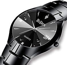 Herren Schwarz Uhren Männer
