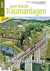 Im bayerischen Jura - Eisenbahn Journal Josef Brandls Traumanlagen 1-2018