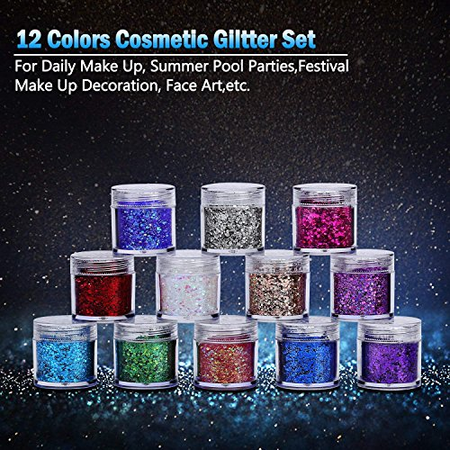 Brilliant glitter set, perfect for crafts