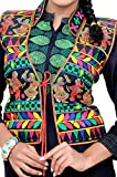 #6: TIA's Women's Kutch embroidered Shrug/Navratri special Gujarati koti / Short jacket