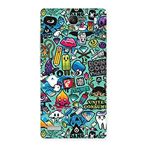 Delighted Candy Back Case Cover for Redmi Note