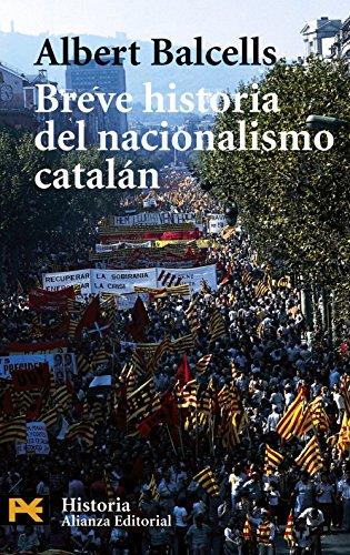 Portada del libro Breve historia del nacionalismo catalán (El Libro De Bolsillo - Historia)