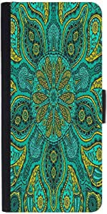 Snoogg Ornamental Lace Patterndesigner Protective Flip Case Cover For Samsung...