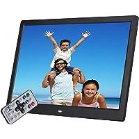 Digitaler Fotorahmen, 17 Zoll 1920 * 1080 hohe Auflösung mit HDMI-, USB-, SD/SDHC/MMC-Kartensteckplatz, MP3 / MP4 Player…