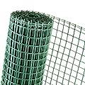 15m² KUNSTSTOFFZAUN 0,5m Höhe x 30m Länge Masche 40mm Gänse- Geflügelzaun grün von Novmax bei Du und dein Garten