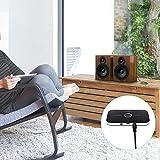AUKEY Transmisor Receptor Bluetooth 2 en 1, Adaptador Audio Bluetooth 4.1 Sonido Estéreo Transmisión Sin Pérdidas 3.5mm Puerto para Altavoces, Auriculares, TV, PC, iPhone, Radio etc