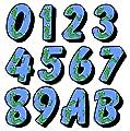 Snake Number Sticker / Autocollant Pour porte de la maison / Wheelie Bin / Poubelle - Choisissez Nombre