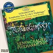 """Tchaikovsky : Symphonies n° 4, n° 5 et n °6 """"Pathét"""