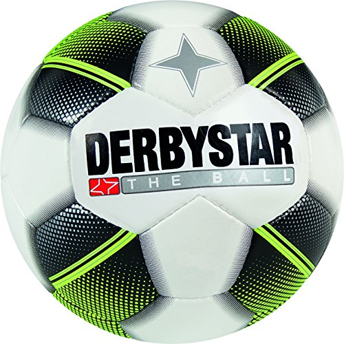 Derbystar Miniball, 47 cm, weiß schwarz gelb, 4253000125 -