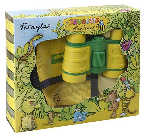 Beluga Spielwaren 65063 - Janosch Abenteuer Tigers Fernglas, gelb/grün