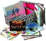 Greetingsbox Card Geburtstagskarten (englische Aufschrift), 60Stück