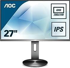 AOC Q2790PQU/BT 68,58 cm (27 Zoll) Full HD Monitor Schwarz