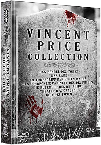 Vincent Price Collection [7 Blu-Ray] - uncut - auf 666 limitiertes Mediabook