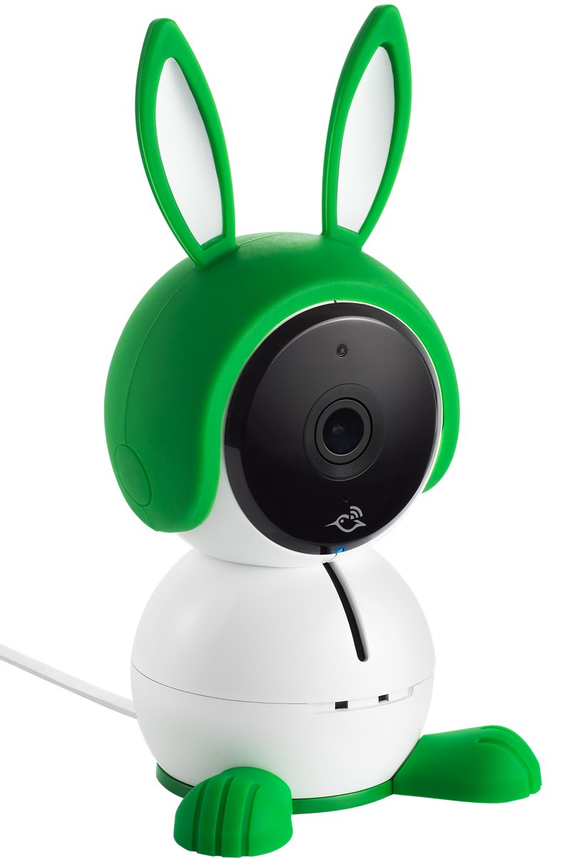 Arlo Baby Monitor Smart WIFI Baby Camera 1080P HD with 2-Way Audio, Night Vision, Air Sensors, Lullaby Player, Night Light, Works with Amazon Alexa, HomeKit (ABC1000) Arlo 1080p HD quality: View live or recorded videos in detail and rich colour; go untethered from a power source for up to 6 hours (up to 3 hours with night vision active) to go where your baby goes Two-way talk: Comfort and talk to your baby from anywhere, whether you're at the office or in the living room; built-in rechargeable battery Enhanced night vision: Near-invisible infrared LEDs lets you see your baby clearly, even in the dark(940nm LED: illuminates up to 15 feet) 3