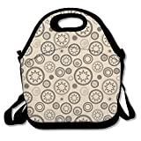 Bahai Star Lunch Bag Classic Generous For Womens