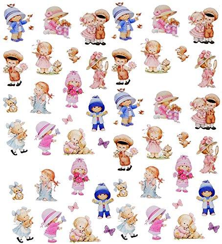 t _ Aufkleber / Sticker -  Morehead - kleine Kinder / Baby  - selbstklebend - für Jungen & Mädchen / Erwachsene - Stickerset Kinder - z.B. für Sti.. ()