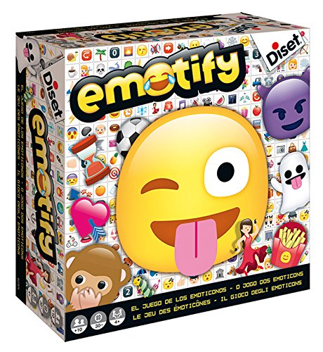 Diset - 62301 - Emotify - Le Jeu des Emoticônes