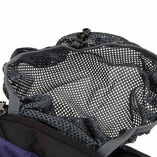 Lixada Wasserabweisend Schulter Fahrrad Rucksack für Mountain Radreisen Wandern Camping Wassertasche läuft Lila
