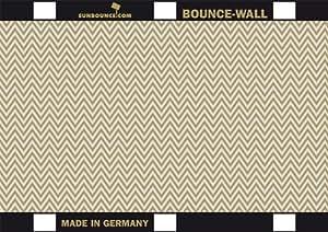 Sunbounce Bounce-Wall Reflektor Zebra (21 cm x 29,7 cm / 8 Zoll x 11 Zoll) gold/silber - Rückseite weiß