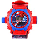 Anitas 24 Images Spiderman Projector Watch for Kids, Diwali Gift, Birthday Return Gift (Colour May Vary)