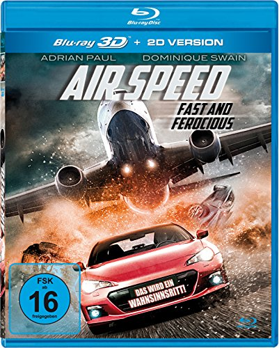 Air Speed - Fast and Ferocious 3D (3D Blu-ray) (Air Blu-ray)