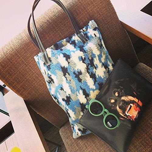 Zarapack ,  Damen Tasche blau
