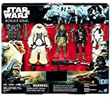 Star Wars Rogue Eins Exclusiv Actionfigur 4 Stück Enthält: Rebel Commando Pao, Mal, Imperial Tot Trooper und Imperial Stormtrooper