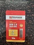 Simmtronics 4 GB USB Flash Drive with Metal Body