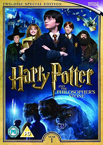 Image of Harry Potter and the Philosopher's Stone (2016 Edition) [Includes Digital Download] [DVD]