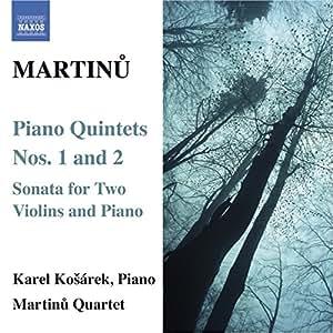 Klavierquintette Nr. 1+2