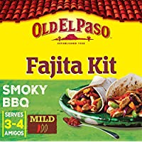 Old El Paso Mexican Smoky BBQ Fajita Dinner Kit, 500g