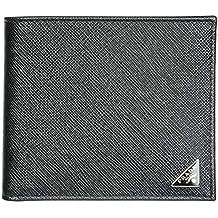 1b2d824d5 Prada cartera billetera bifold de hombre en piel nuevo negro