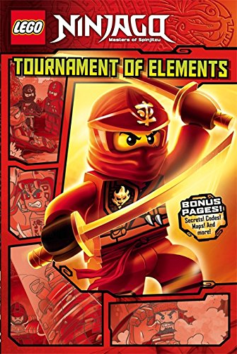 Tournament of Elements: Graphic Novel Book 1 (LEGO Ninjago, Band 1) (Avatar Last Airbender Spielzeug)