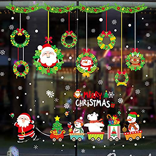 Christmas Window Decals.Save 31 Christmas Window Decals Xndryan Christmas Wall
