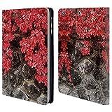 Head Case Designs Offizielle PLdesign Herbst Efeu Blumen Und Blaetter Brieftasche Handyhülle aus Leder für iPad Mini 1 / Mini 2 / Mini 3