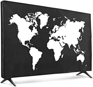 Kwmobile 55 Tv Hülle Fernseher Bildschirmschutz Elektronik