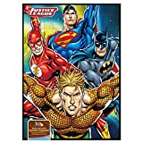 Bonbonbuddies Justice League Calendario Avvento Batman Superman The Flash Aquaman - Fumetti Dc con 65g Cioccolato Latte