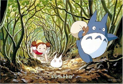 Studio Ghibli My Neighbor Totoro 300 Pieces Jigsaw Puzzle (Finished Size 15