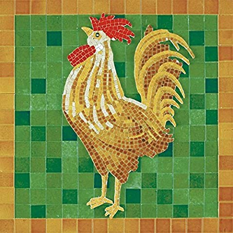 Ceramic Model - Mosaic - Enameled Ceramic - Cock by Aedes-Ars