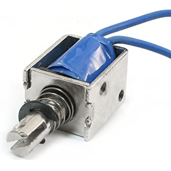 Controls & Indicators Industrial Electrical 36V DC 9W 5mm 500g Push Pull Linear Actuator Electromagnet Solenoid