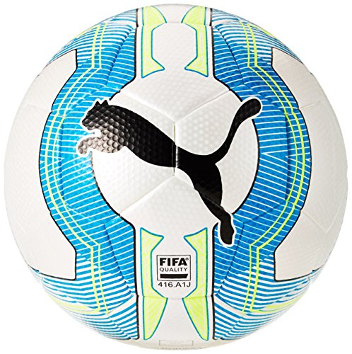 Pallone da calcio PUMA ultima 33 Tournament 4 White/Atomic Blue/safety Yellow 4 082555 01
