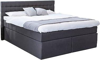 Betten Jumbo King Boxspringbett 140x200 160x200 180x200 200x200 Cm Mit  Luxus 7 Zonen Taschenfederkernmatratze Visco