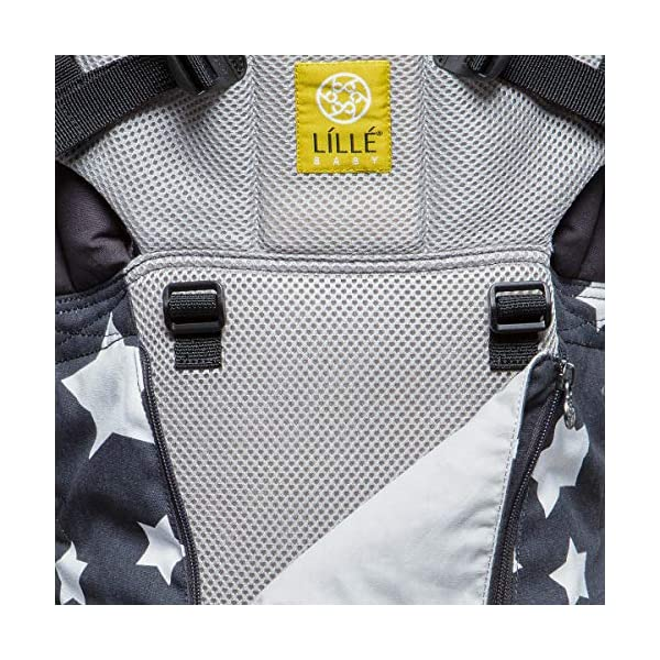 LILLEbaby Baby and Child Carrier Lillebaby With a temperature regulating breathable panel and 6 carrying positions - foetal, infant inward, outward, toddler inward, hip, back - the only carrier you'll ever need! Suitable from 3.2- 20kg (birth to approx. 4 years old), providing extended comfortable use for parent and child with no additional infant support required for new-borns The ergonomic adjustable seat is acknowledged as 'hip-healthy' by the international hip dysplasia institute 9