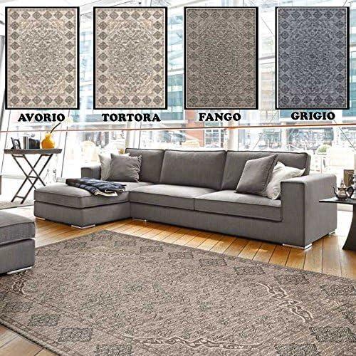 Centesimo Web Shop Tappeto Classico in 7 - Misure E 4 Coloreei Prodotto in Italia - 7 ARrossoO Sala Soggiorno Camera - Soggiorno Camera Salotto - 65X300 CM Avorio - 65x300 cm Avorio b8ea8e