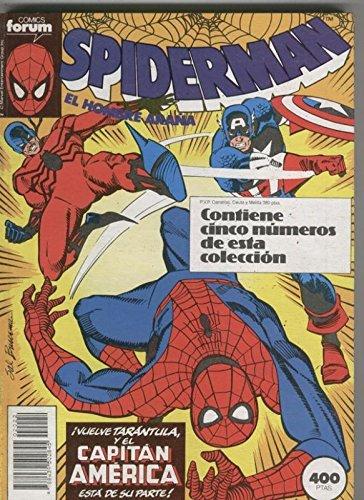 Spiderman volumen 1 retapado 186 al 190
